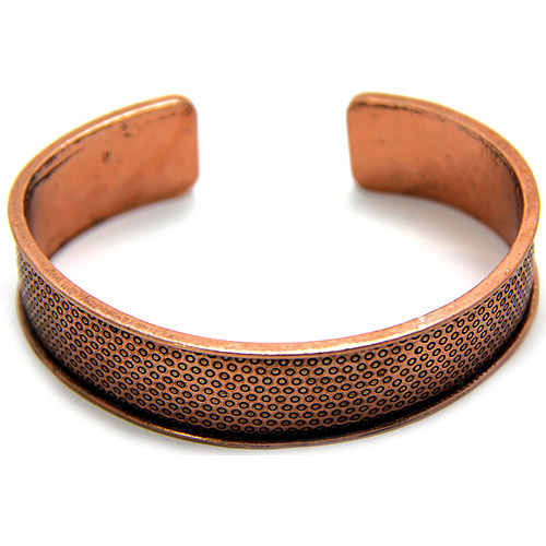 EK Success Create Your Style Metal Cuff, Simple Texture, Copper