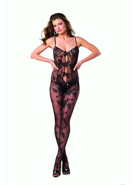 9a93a5d8bf Product Image Body Stocking with Bow Accents. Be Wicked