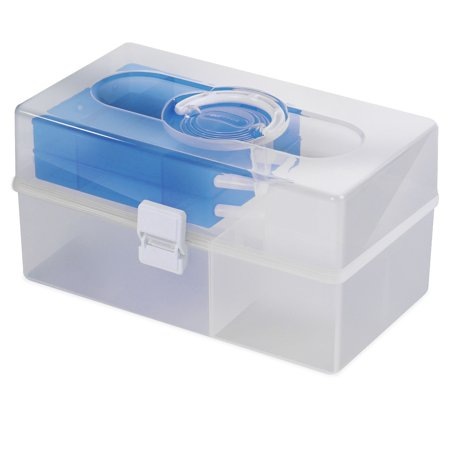 Hobby & Crafts Portable Storage Box - Blue(Pack of 9)](Craft Storage Containers)