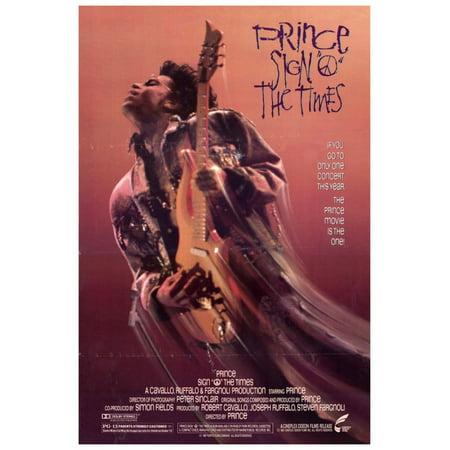 Sign O The Times - Prince (1987) 27x40 Movie (Prince Sign O The Times Live 1987)
