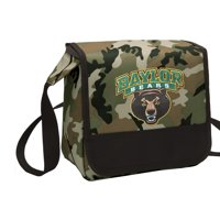 CAMO Baylor University Lunch Bag Stylish OFFICIAL Baylor CAMO Lunchbox Cooler for School or Office - Men or Women