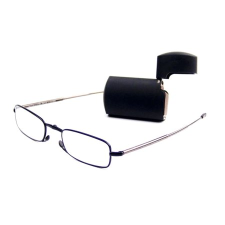 Foster Grant  MicroVision Silver Foldable Reading Glasses 1.5