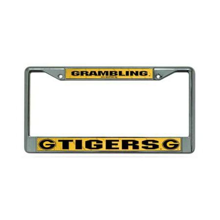 Grambling State Tigers NCAA Chrome Metal License Plate Frame
