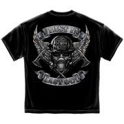 Cotton Steel Fire Wings T-Shirt