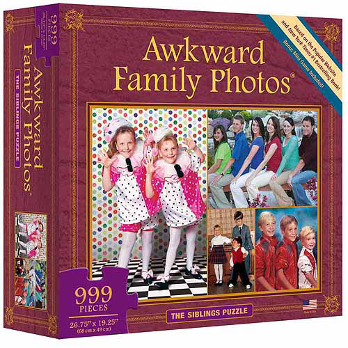 Awkward Family Photos The Siblings Puzzle