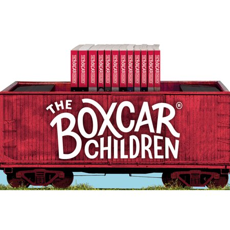 Orange Boxcar (The Boxcar Children Bookshelf (Books #1-12) [With Activity Poster and Bookmark])