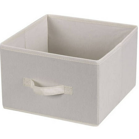 Household Essentials Drawers For 6 Shelf Hanging Closet Organizer Natural Canvas Set Of 2