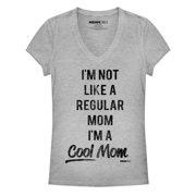 Mean Girls Juniors' Not a Regular Mom V-Neck T-Shirt
