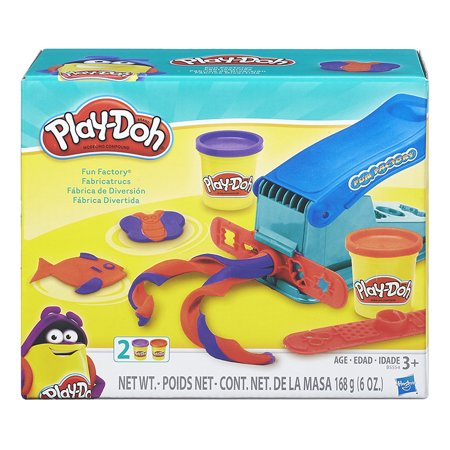 Playdough Sets (Play-doh Fun Factory Set with 2 Cans of)