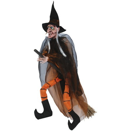 Loftus Hanging Witch With Broom Halloween 35
