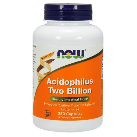 Acidophilus 2 Billion Milk Free Now Foods 250 Caps