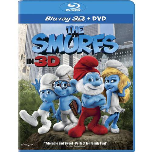 The Smurfs (Blu-ray 3D + DVD) (Anamorphic Widescreen)