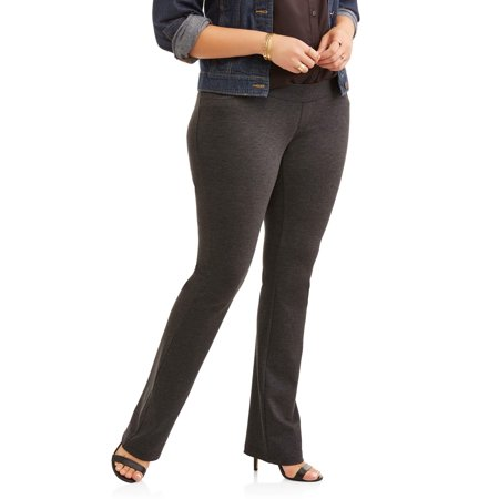 Petite Length - Women's Plus 5 Pocket Ponte Pant, Available in Petite Lengths