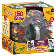 Crayola Telescoping 150 Count Crayon Tower With Built-In Sharpener