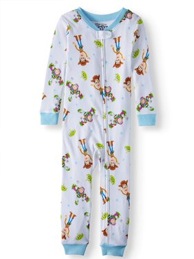 Toy Story Baby Boy Snug Fit Cotton Footless Sleeper Pajamas