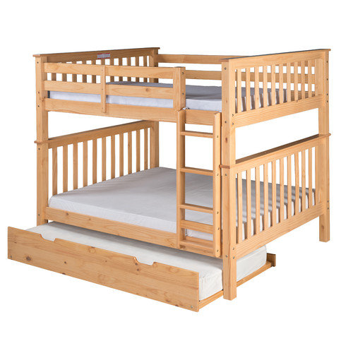 Camaflexi Santa Fe Mission Bunk Bed with Trundle