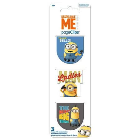 Magnetic Page Clips - Despicable Me - Stationery New bm4629 - Stationery Shops Near Me
