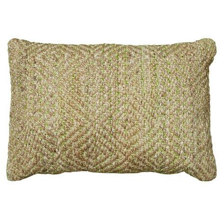 LR Resources Coastal Natural Fiber Accent Lumbar Pillow ()