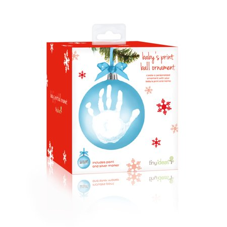 Handprint Keepsake Round Ornament
