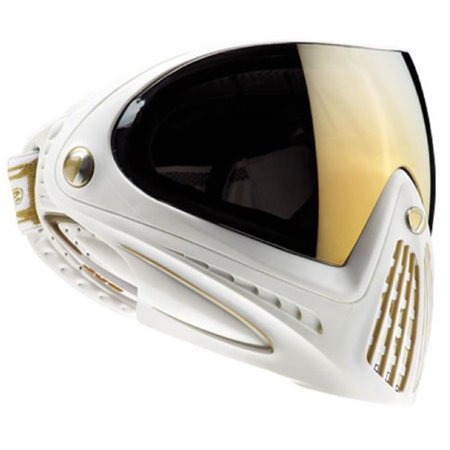 New Dye Matrix I4 Paintball Mask / Goggles - White and Gold Limited Edition