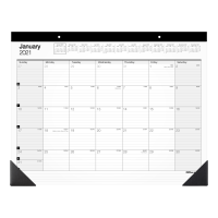 Deals on Office Depot Brand Monthly Desk Pad Calendar 22-in x 17-in