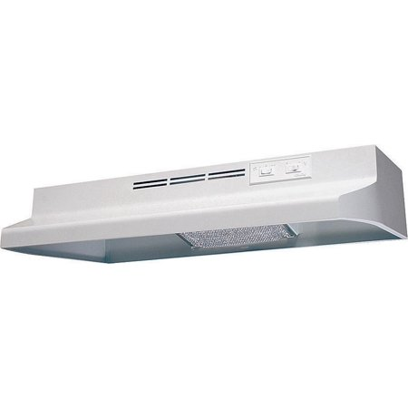Air King Advantage AD AD1303 Under Cabinet Ductless Range Hood, 180 cfm, 23 ga Cold Rolled -
