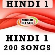 Magic Sing Hindi 1 Song Chip 200 Songs for Et28kh