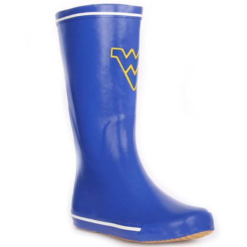 NCAA - Woman's West Virginia Mountaineers Centered Rain Boots