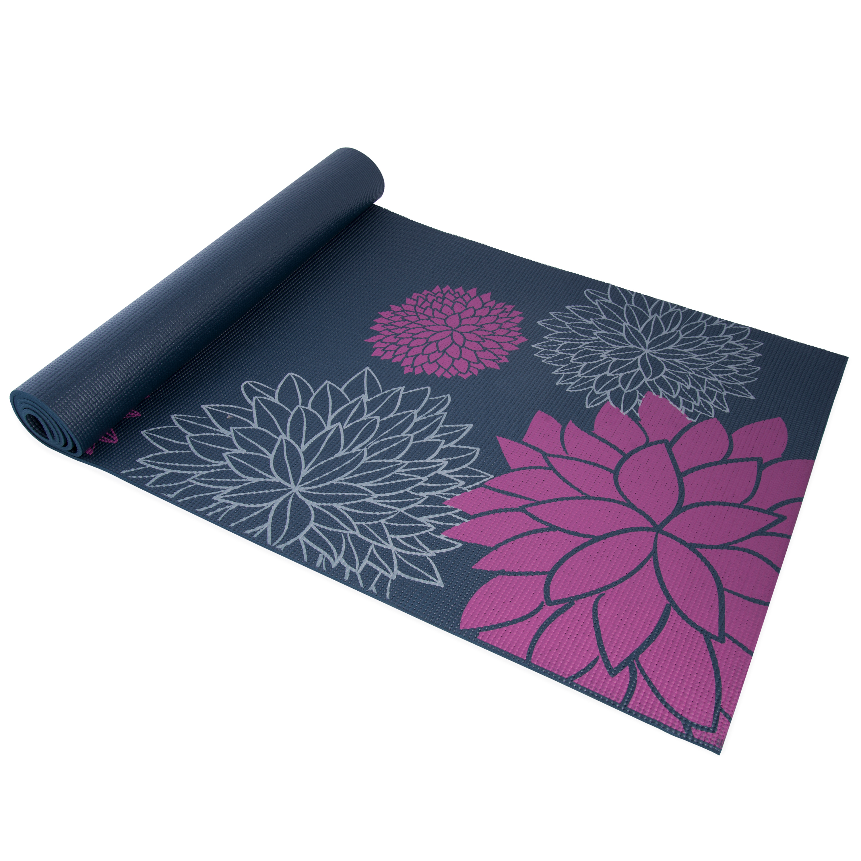 CAP YOGA Mat with Carry Strap, Dahlia