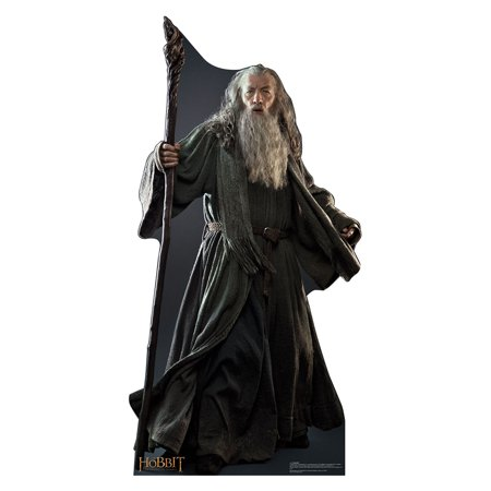 Movie Cutouts (The Hobbit Movie Gandalf Lifesize Standup Standee Cardboard Cutout)