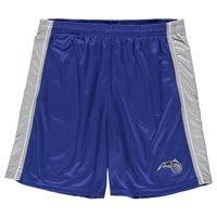 Orlando Magic Majestic Big & Tall Birdseye Shorts - Blue/Silver