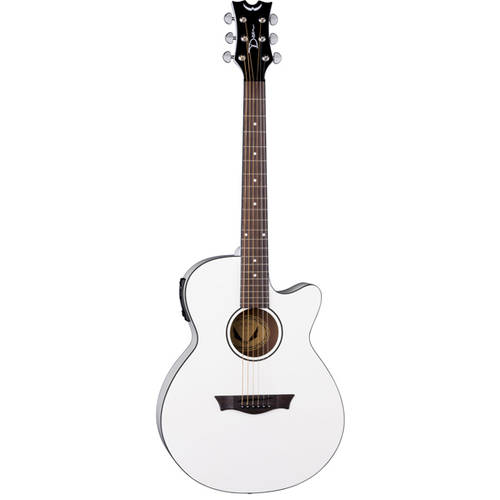 Dean AXS performer Acoustic Electric Guitar, Classic White by Dean