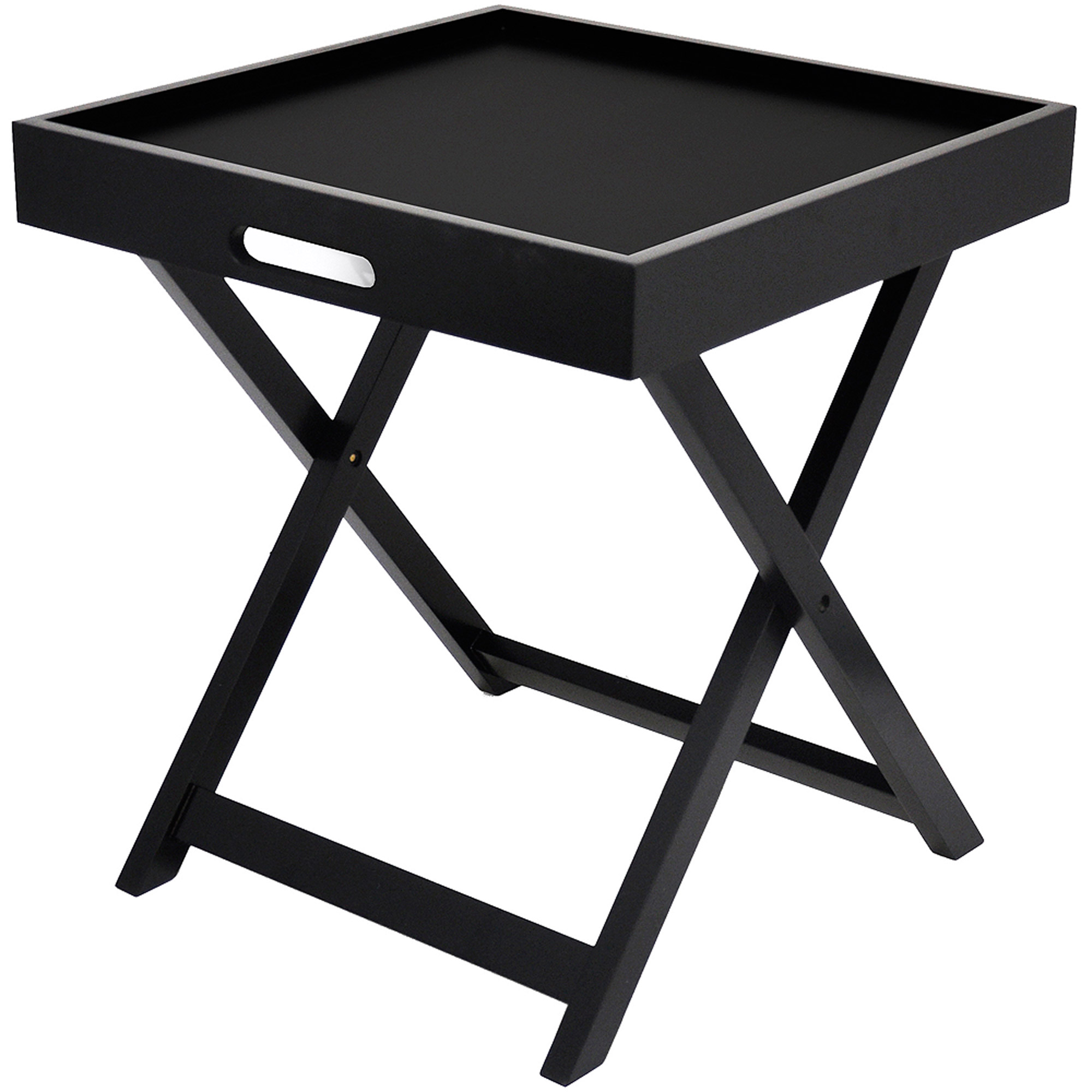 Urban Shop Side Table with Removable Tray, Multiple Colors