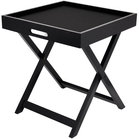 Urban Side Table With Removable Tray Multiple Colors