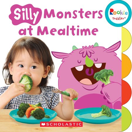 Rookie Toddler: Silly Monsters at Mealtime (Rookie Toddler) (Board Book)](Silly Monsters)