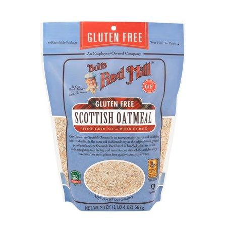 Bob's Red Mill, Scottish Oatmeal, Gluten Free, 20 oz