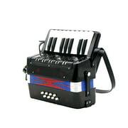 Kids Children 17-Key 8 Bass Mini Small Accordion Educational Musical Instrument Rhythm Band Toy