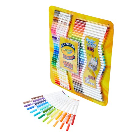 Crayola Colossal Color Kit with 65 (Colossal Shrimp)