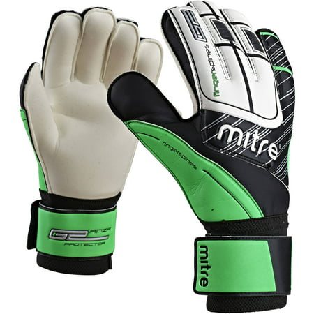 Goalie Trapper - Mitre Anza G2 Protector Goalie Gloves