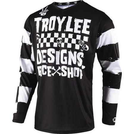 Youth Off Road Mens Jerseys - troy lee designs off road motocross gp race shop 5000 jersey (black, medium)