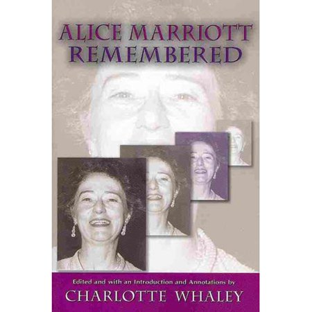 Alice Marriott Remembered