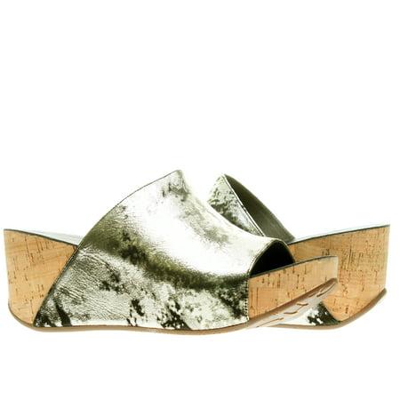 bc71ea619ecc Chocolat Blu - Chocolat Blu Milenna Wedge Gold Women s Sandals ...