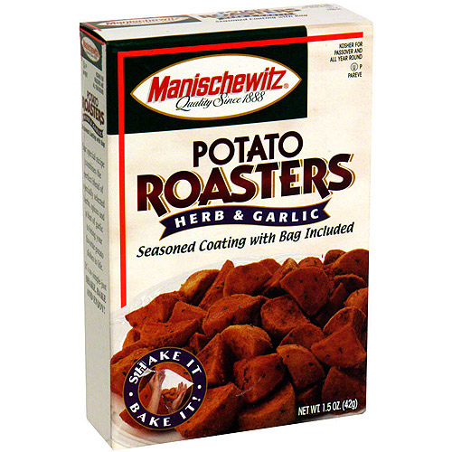 Manischewitz Herb And Garlic Potato Roasters, 1.5 oz (Pack of 6)