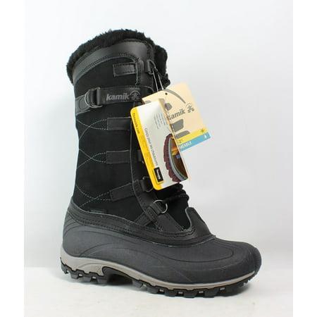 Kamik Womens Citadel Black Snow Boots Size (Kamik Snow Boots)