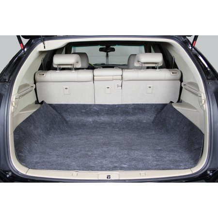 Auto Drive Cargo Liner Floor Mat Waterproof Upholstery Protection- Universal Trim to Fit Non-Fray Material for Car, SUV, Van, (Used Chevy Express Cargo Van)