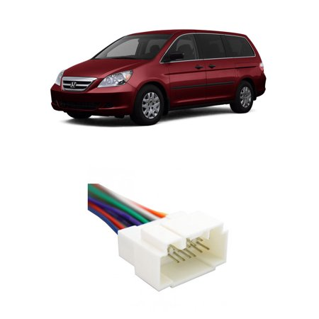 Honda Odyssey Aftermarket - Honda Odyssey 1999-2007 Factory Stereo to Aftermarket Radio Harness Adapter
