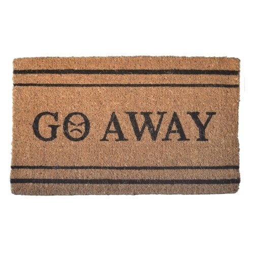 Imports Decor Creel Go Away Doormat