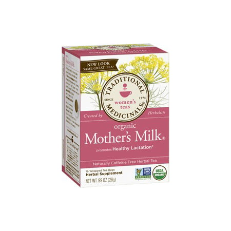 (6 Boxes) Traditional Medicinals Mother's Milk Tea Bags, 16