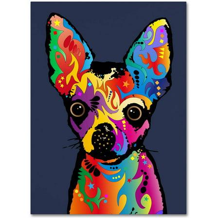 Chihuahua Dog Art (Trademark Fine Art