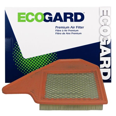ECOGARD XA6165 Premium Engine Air Filter Fits Dodge Grand Caravan, Chrysler Town & Country, Ram C, V, Volkswagen